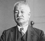 徳富蘇峰(昭和5年 民友社にて)