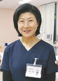 羽田澄子看護部長