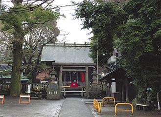 菅原神社を含む約7Kmのコースを歩く