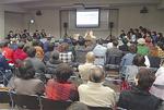 FCのシンポジウムには100人が参加した =12月10日小山町