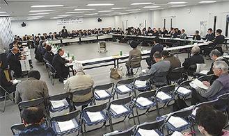空席が目立った第4回会議