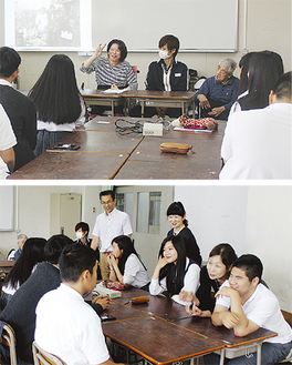 入所者の講演や実例体験が行われた。