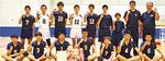 岡本中男子バレーボール部の生徒