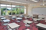 改修された教室