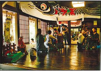 推薦に選ばれた城戸和子さんの作品「こどもの日」