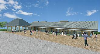「道の駅」のイメージ図