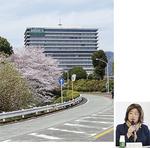 ブルックス大井事業所(上)と同社小川社長(右)