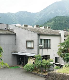 中川温泉にある丹沢荘