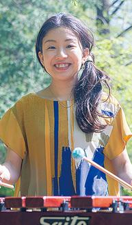 打楽器奏者の若鍋久美子さん