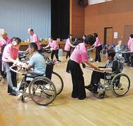 車椅子ダンス講習会
