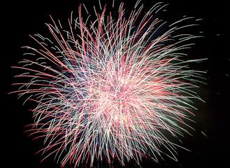 約2千発の花火大会