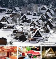 雪の白川郷&飛騨高山へ