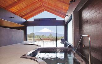 お風呂から富士山が望める「あしがら温泉」
