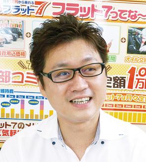 スーパーGTのメカニックとしても活躍中の三橋さん