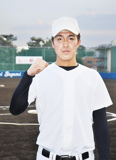 甲子園出場を夢見る高橋選手