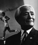 澁谷壽光さんが名誉町民