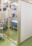 救急外来に新設された隔離スペース