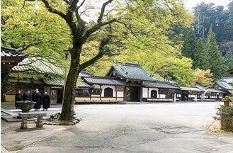 コースの一つとなる大雄山最乗寺