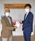 山室会長(左)と畠さん