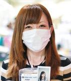 マスクの下はいい笑顔