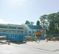 木造新校舎22年完成へ