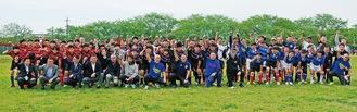 県西地区の中学生約50人でスタートしたシーゲイルズJr.