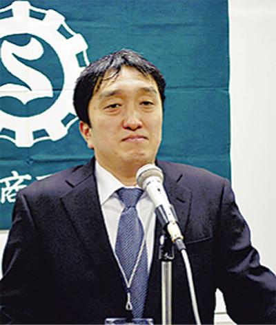 新部長に加藤崇秀氏