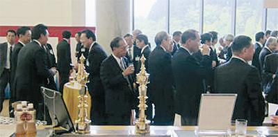 10周年祝い 記念式典