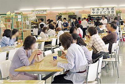無料喫茶室が女性たちに大人気