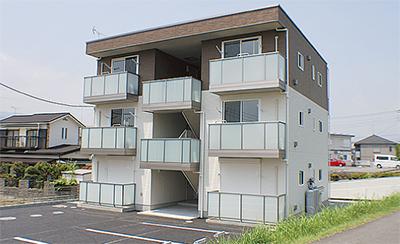 JAの新築アパート完成内覧会