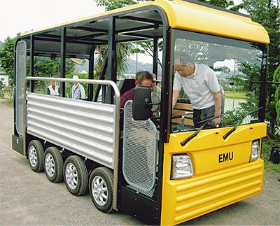 EVバス 足柄平野を巡る