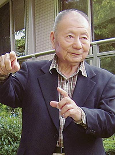 植物生態学の世界的権威  宮脇昭氏が講演