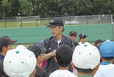 元プロが野球指導