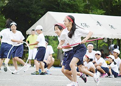 幼小中で運動会