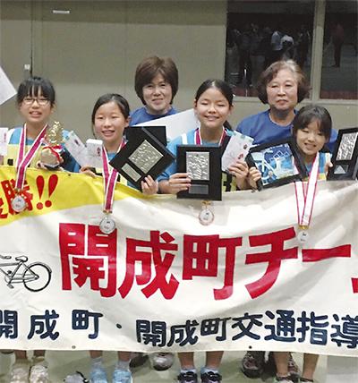県大会で3連覇