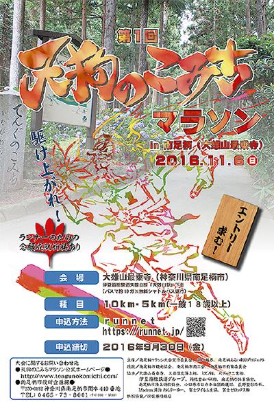 11月に初のマラソン大会