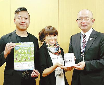 アシガラマルシェ熊本へ災害義援金