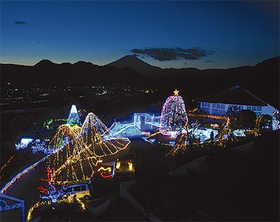 今年も夜景とコラボ