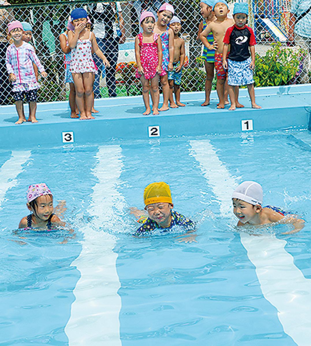 夏の仕上げ「水泳大会」