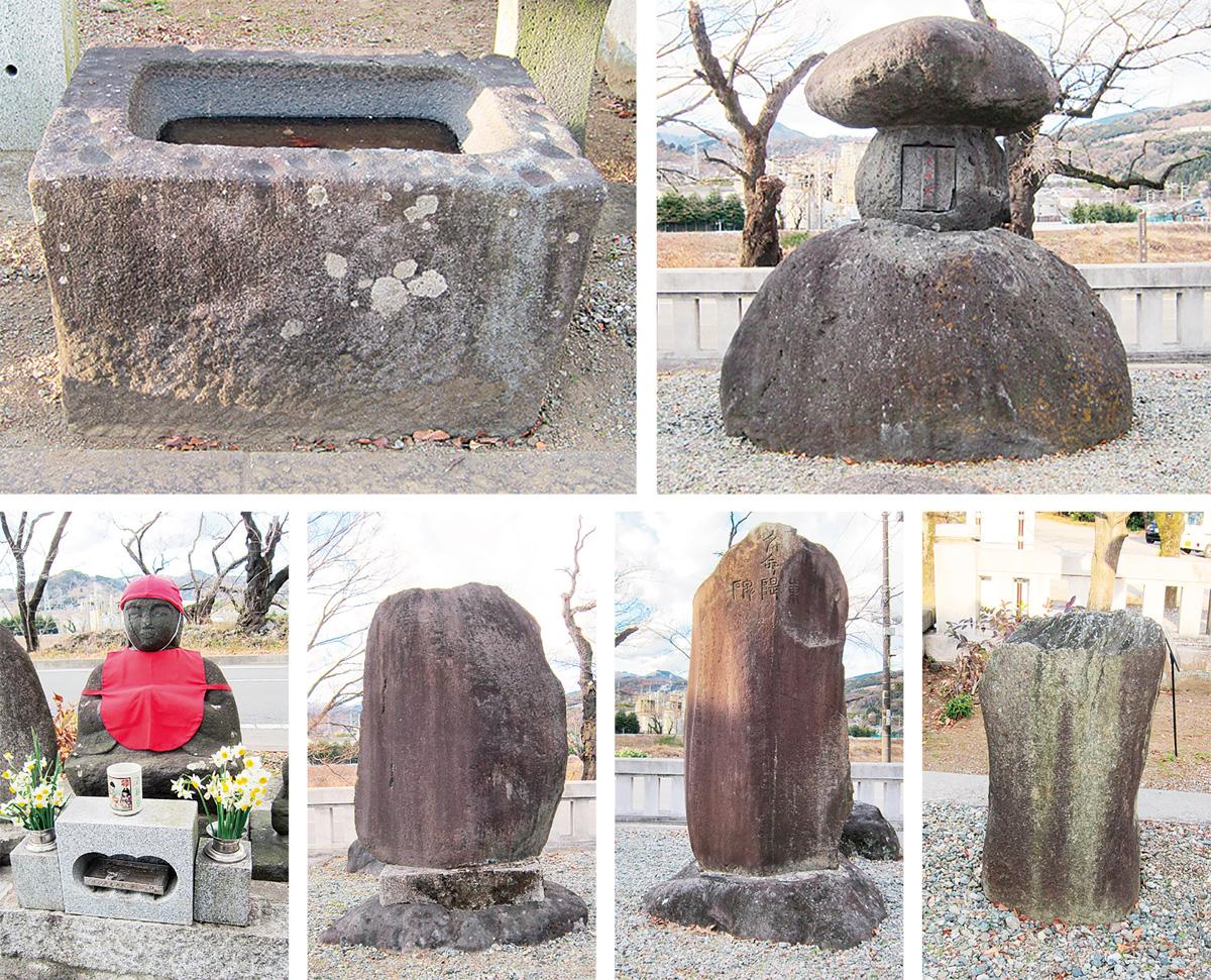 文命堤石碑など市有形文化財に