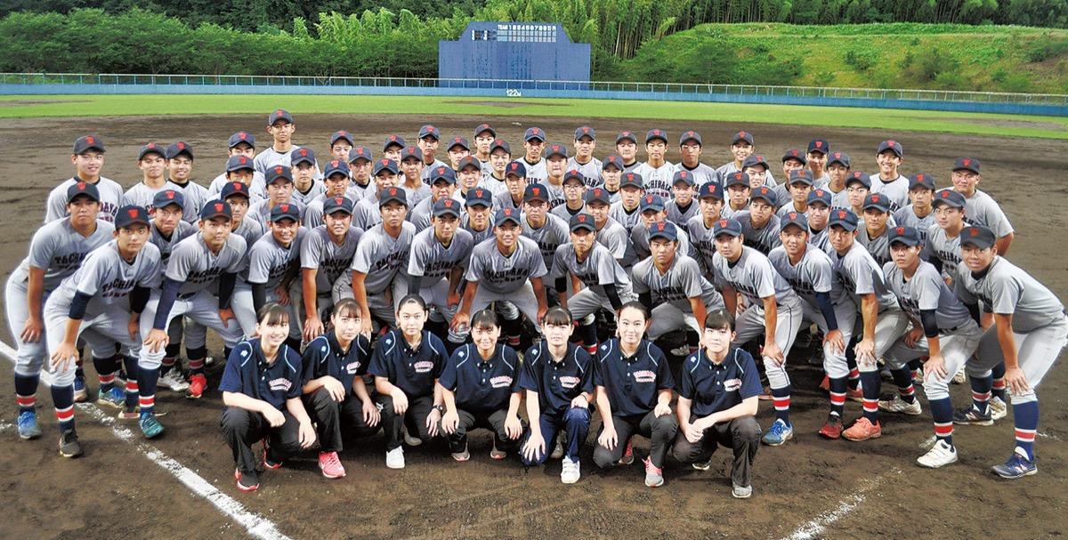 「頂点獲るぞ」で一丸 立花学園硬式野球部