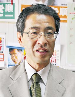 国政への決意を語る露木氏