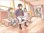船内には人形も配置
