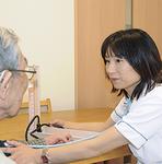 看護師も毎日常勤。健康状態を常に把握