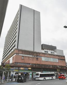 小田原駅西口にあるビルの一部