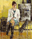 「ひととき」日展(2009)文部科学大臣賞作品