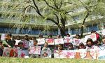 仙石原幼児学園の子どもたち クラス名は「さくら組」