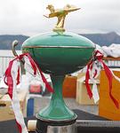 伝統のグリーンカップ