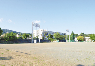 中央の建物付近に県が養護学校分教室を建てる構想もある