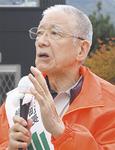 5選阻止を訴えていた仙石氏(27日)